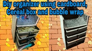Diy Cereal Box Craft | Cerelac Box Craft | Diy Organizer With Cereal Box