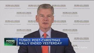 Bear market will continue through 2020: Mark Yusko