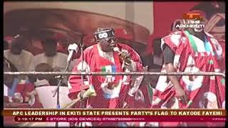 How Tinubu Campaigned for Fayemi in Ekiti