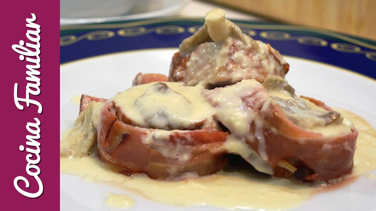 Solomillo de cerdo con salsa de hongos | Javier Romero Cap. 42 - Temporada 1