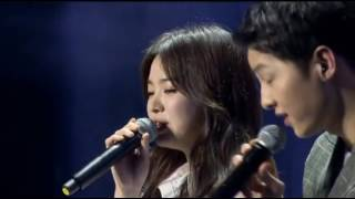 160617 송중기 송혜교 Song Joong Ki Song Hye Kyo sing 'Always' 宋仲基 宋慧乔合唱 Song Song Couple