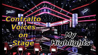 Contralto Voices on Stage - My Highlights