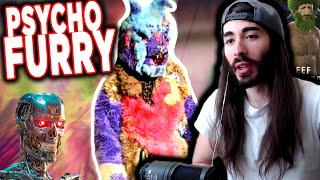 moiscr1tikal reacts to The Carpet Sample Fursuit Guy (ShadoWolffess) | Internet absurdity W/CHAT