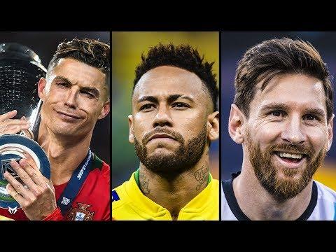 Cristiano Ronaldo, Neymar Jr, Lionel Messi  • Lil Mosey   Noticed   • 2019