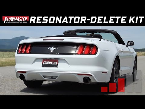 2015-17 Ford Mustang 3.7L - Resonator Delete Mid-pipe 81107