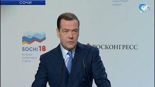 Премьер-министр РФ Дмитрий Медведев встретился с главами субъектов в Сочи