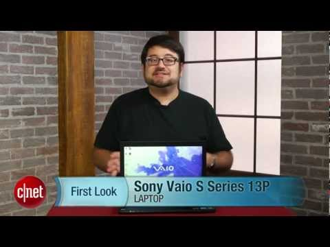 Sony Vaio S Series 13P hands-on - First Look