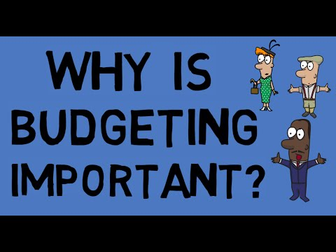 Why is budgeting important? - Animated