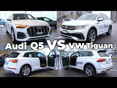 Audi Q5 2021 vs Volkswagen Tiguan 2021 | Which would you choose ?
