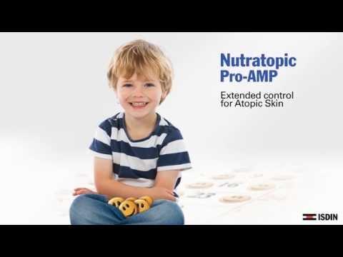 Eczema seco na criança de uma foto