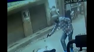 Amritsar: CCTV captures unidentified men shot dead Hindu Sangathan leader
