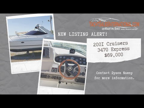 Cruisers Yachts 3470 Express video