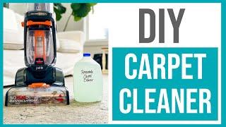 Homemade Carpet Cleaner Solution // Best DIY Rug Doctor Copycat!