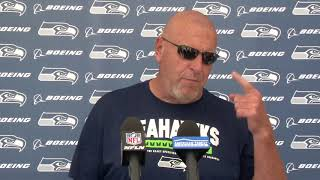Seahawks Offensive Line/Assistant Head Coach Tom Cable Week 2 Press Conference