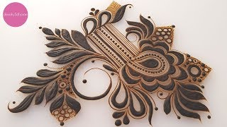 Arabic Henna Doodle | Henna Tutorials, Classes And Lessons By Devaky S Dharan