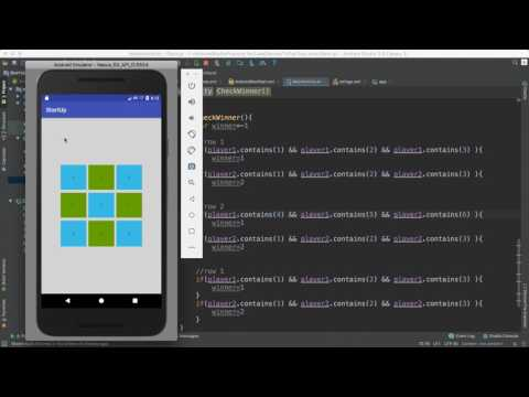 48- Android Tic Tac Toy|| Find Winner- ايجاد الفائز