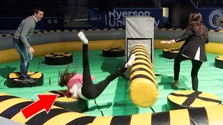 THIS WAS A VERY BAD IDEA!!   CRAZY WIPEOUT CHALLENGE