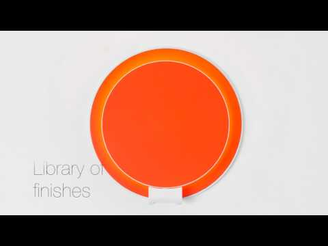 Video for Gravy Matte Orange Plug-In LED Wall Sconce