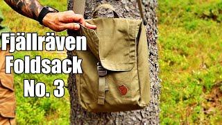 Fjällräven Foldsack no  3 - Quick look at my new shoulder bag