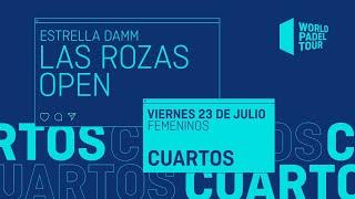 Cuartos de final Femeninos - Estrella Damm Las Rozas Open 2021 - World Padel Tour