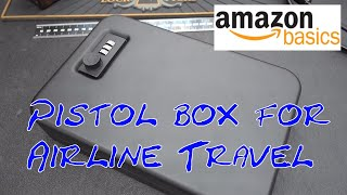 (1550) Review: AmazonBasics Personal Security Case XL