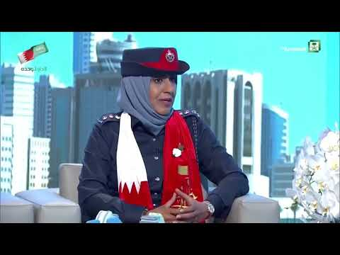 Captain Hind Al Thawadi in the Saudi channel talks about the National Day 17/12/2017