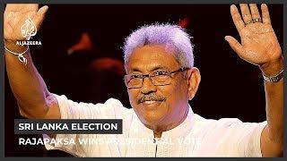 Former Defence Secretary Gotabaya Rajapaksa Wins Sri Lanka Election