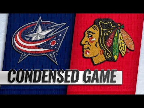 02/16/19 Condensed Game: Blue Jackets @ Blackhawks