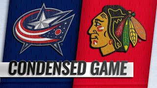 02/16/19 Condensed Game: Blue Jackets @ Blackhawks