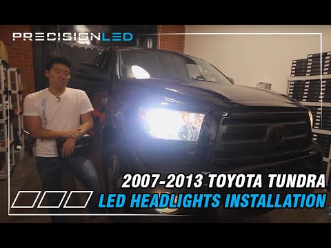 Toyota Tundra LED Headlights - Do It Yourself Install 2nd Gen 2007-2013 Mp3