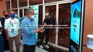 Lawatan ke Pusat Pemberian Vaksin (PPV) AstraZeneca di Pusat Dagangan Dunia Kuala Lumpur (PWTC)