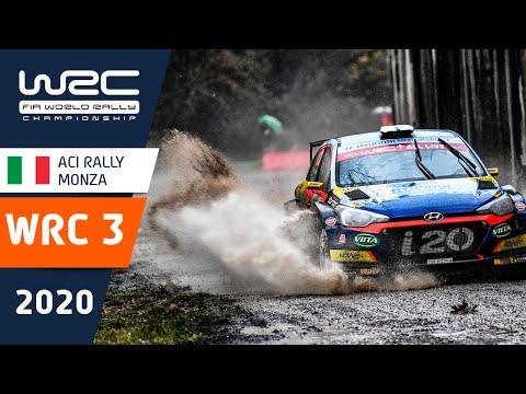 WRC3 第7戦ラリー・モンツァ 全SSのハイライト動画