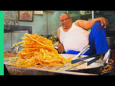 Sweet INDIAN STREET FOOD Tour in North India! India's Dessert Capital!