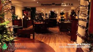 Amish Oak & Cherry - Hickory Furniture Mart in Hickory, North Carolina