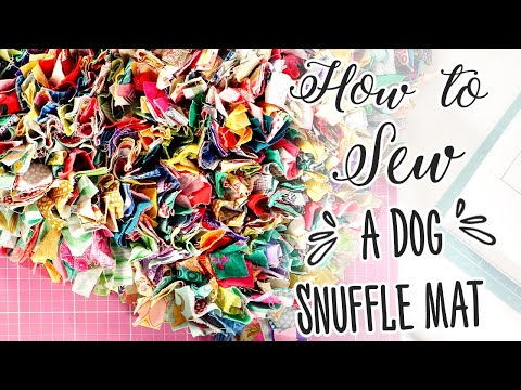 How to Sew a Dog's Snuffle Mat