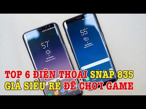 Top 6 điện thoại chip Snap 835 GIÁ SIÊU RẺ chơi game vẫn tốt