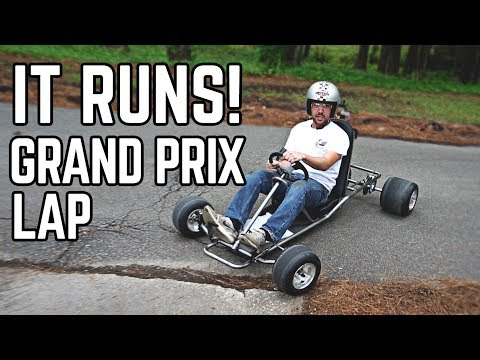 88 MPH DeLorean Kart Build Pt. 2 | We Have a Runner!