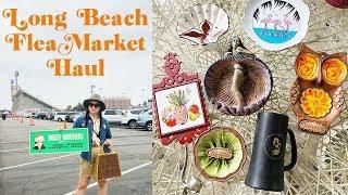 Long Beach Antique Market Haul + Flea Market/Vintage Q&A | Emily Vallely