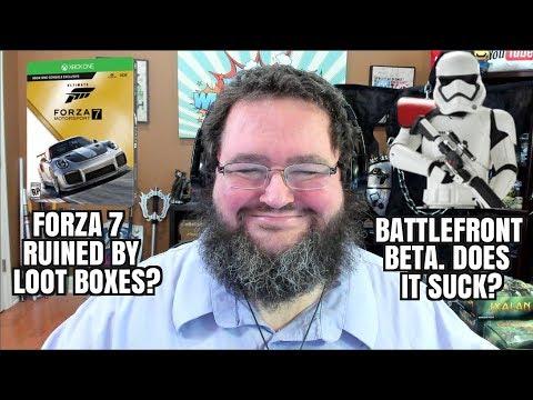 Gaming News: Forza RUINED? Cuphead GOOD? Skyrim Paid Mods? Battlefront II Beta
