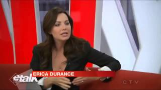 E! Talk l Saving Hope S.2 Promotion (15.01.14)