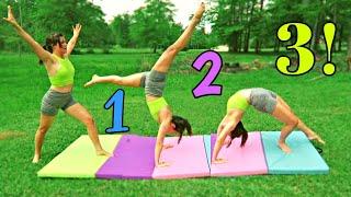 Back-bend Kick-over Tutorial 2020 *Follow Along* | Easy Gymnastics Skills (Self-taught Gymnastics)