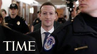 FacebookCEOMarkZuckerbergSenateTestimonyOnCompanysData-PrivacyPolicies TIME