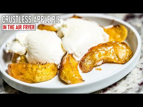Apple Pie in the Air Fryer   Simple Cooking Recipe