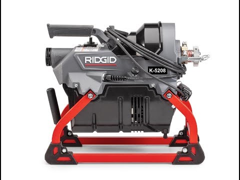 RIDGID K-5208 Fluid Management