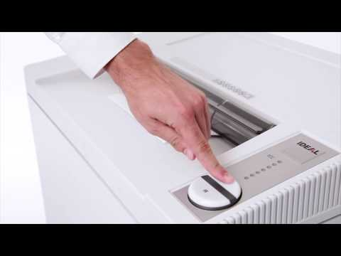 Video of the IDEAL 4002 SC P-2 Shredder