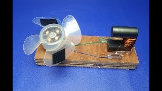 Free energy fan with copper wire self running magnets - Science & Technology 2018 || simple at home