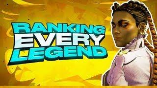 EVERY Legend Ranked (Worst to Best) BEST Apex Legends (Season 5)