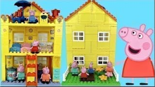 Peppa Pigs Family House Building And Construction Set