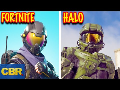 10 Fortnite Skins Inspired By Video Games Characters