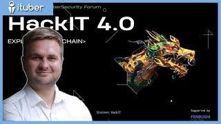 Анонс HackIT 4.0 c Дмитрием Будориным, Киев, ЦИК Парковый, 8-11 октября 2018 года
